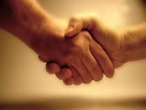 Abkommen! stockbild