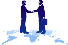 Abkommen auf der ganzen Erde lizenzfreie abbildung