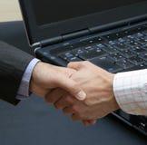 Abkommen der neuen Technologie Lizenzfreies Stockfoto