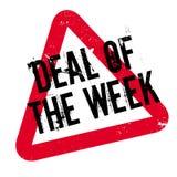 Abkommen des Wochenstempels vektor abbildung