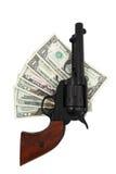 Abkommen mit der Gewehr Stockfotografie