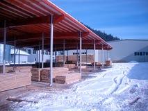 Ablagerung für Schnittholz lizenzfreies stockbild