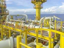 Ablandig Schmieröl-und Gas-Industrie lizenzfreie stockfotos