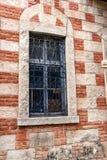 Ablaq stiltegelsten och betong Arkivbilder