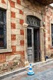Ablaq stiltegelsten och betong Fotografering för Bildbyråer