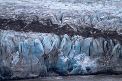 Death of a glacier at the Ice ocean Stock Photos