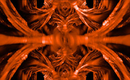 ablaze Royalty-vrije Stock Afbeelding