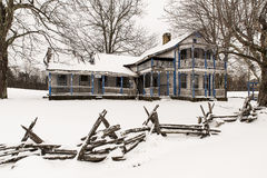 Able Gabbard Residence. In Sand Gap, Kentucky Royalty Free Stock Photography