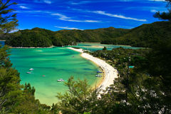 Able Tasman. One of the stunnig bays on the south island of new zealand, Able Tasman track royalty free stock images