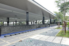Ablución de Puncak Alam Mosque en Selangor, Malasia Fotografía de archivo