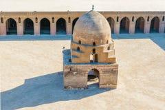 Abluci fontanna, meczet Ibn Tulun, Egipt zdjęcia stock