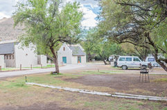 Ablution and camping facilities in the Karoo National Park Royalty Free Stock Image