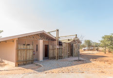 Ablution facilities at the Olifantsrus Rest Camp Royalty Free Stock Photo