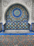 Ablution Fountain. In Great Mosque of Paris Royalty Free Stock Photos