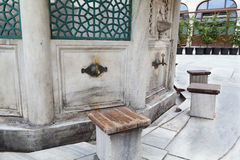 Ablution fountain Stock Photography