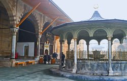The ablution fountain in Mevlana Museum Royalty Free Stock Photos