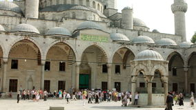 Ablution in a historical mosque Royalty Free Stock Photos
