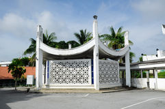 Ablution house of Negeri Sembilan State Mosque in Negeri Sembilan, Malaysia. SEREMBAN, MALAYSIA – FEBRUARY 14, 2014:  Negeri Sembilan's state mosque. It is Stock Photography