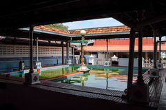 Ablution of Masjid Tengkera (Tranquerah Mosque) in Malacca Stock Photography