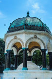 Ablution Minaret in Istanbul Stock Photo