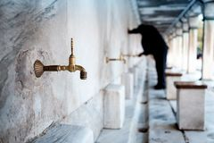 Ablution Mosque Stock Image