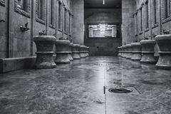 Ablution place in Mosque Royalty Free Stock Images