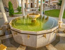 Ablution pool in Fatih Mosque, Pristina Royalty Free Stock Photo