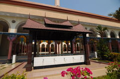 Ablution of Putra Nilai Mosque in Nilai, Negeri Sembilan, Malaysia. Negeri Sembilan, Malaysia – March 06, 2014: Putra Nilai Mosque was located at Nilai, Negeri Royalty Free Stock Photos