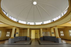 Ablution of Sultan Ismail Mosque in Muar, Johor, Malaysia. JOHOR, MALAYSIA – JANUARY, 2014: Sultan Ismail Mosque also known as Muar 2nd Jamek Mosque located at Stock Image