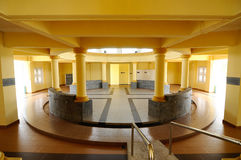 Ablution of Sultan Ismail Mosque in Muar, Johor, Malaysia. JOHOR, MALAYSIA – JANUARY, 2014: Sultan Ismail Mosque also known as Muar 2nd Jamek Mosque located at Royalty Free Stock Photo