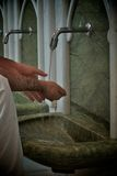 Ablution tap Stock Image