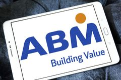 ABM产业商标 免版税库存照片