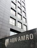 Abn Amro bank Royaltyfri Foto