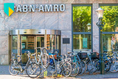 ABN AMRO bank branch office in Alkmaar, Netherlands Royalty Free Stock Image