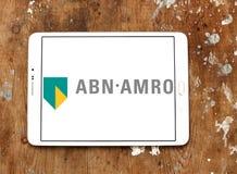 ABN AMRO packar ihop logo Arkivfoton