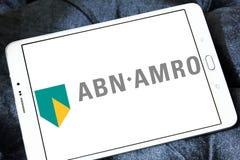 ABN AMRO packar ihop logo Royaltyfri Bild
