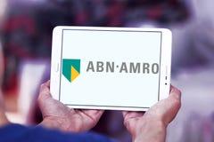 ABN AMRO packar ihop logo Royaltyfria Foton