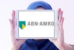 ABN AMRO packar ihop logo Arkivfoto