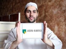 ABN AMRO packar ihop logo Royaltyfri Foto