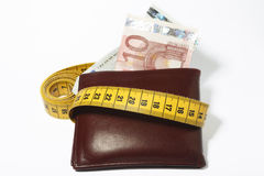 Abnehmen von Fonds Stockbild