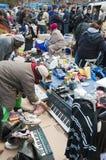 Abnehmer im Bricklane Markt Lizenzfreie Stockbilder