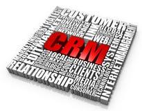 Abnehmer-Verhältnis-Management Stockbild