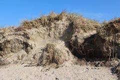 Abnutzung von Dünen durch Stürme lizenzfreie stockbilder