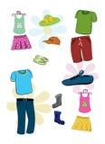 Abnutzungskleidung lizenzfreie abbildung