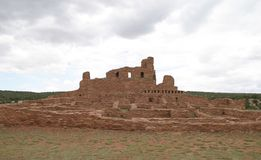 Abo Pueblo, New México imagenes de archivo