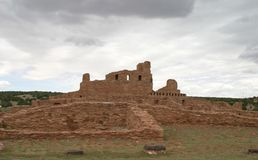 Abo Pueblo, New Mexico Stock Afbeelding
