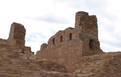 Abo Pueblo, New Mexiko Stockfotos