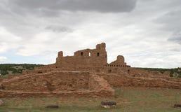 Abo Pueblo, New Mexiko Stockbild