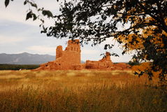 Abo Ruins. Indian Ruins in New Mexico Stock Photo