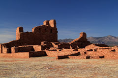 Abo Ruins. At Salinas National Monument in the State of New Mexico Royalty Free Stock Photography